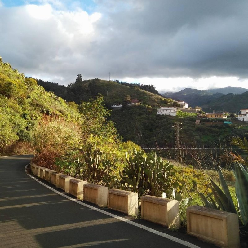 Cycling on Gran Canaria is just amazing. Breathtaking views pretty much all the way up and down the mountains.