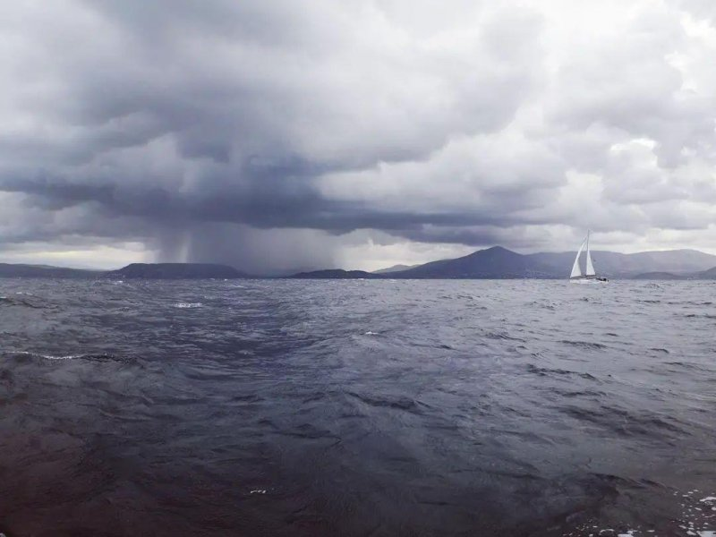 Ended up in a bit of a storm today...