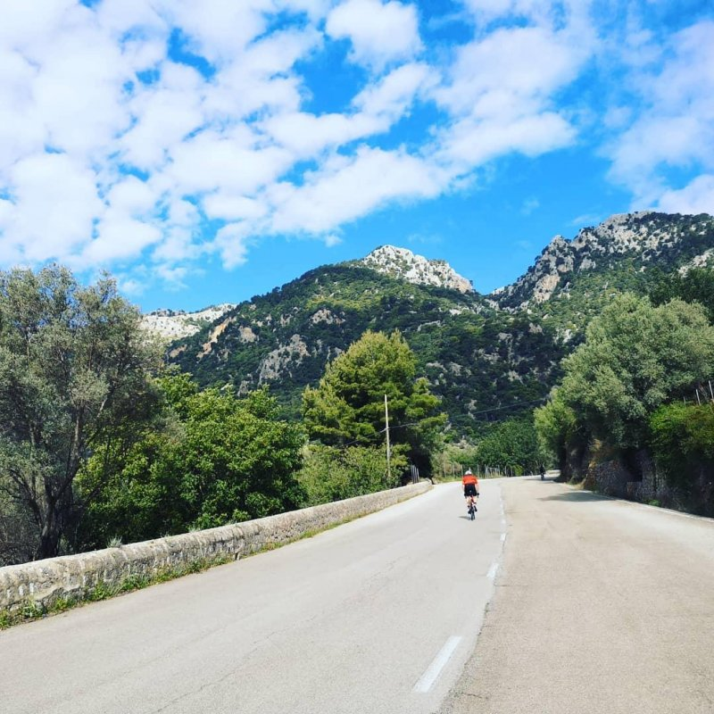 Nice Saturday ride with @rapha_mallorca.