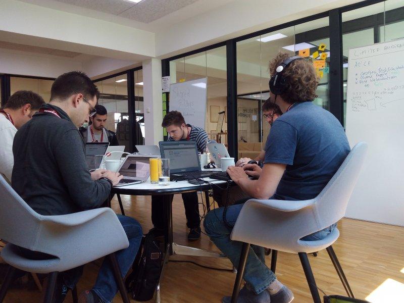 Hacking at #indiewebcamp