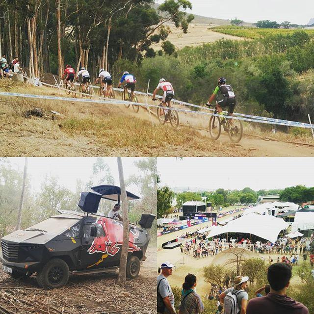 Had some fun watching the UCI mountain bike xco world cup yesterday, as it was happening around the corner.